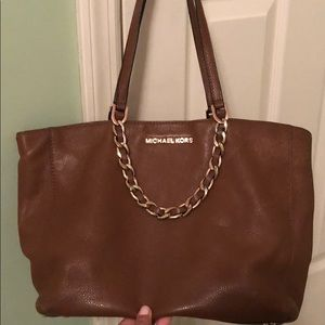 Michael Kors Caramel Leather Purse
